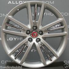 """Genuine Jaguar XK XKR XK XKR Selina Argent 20"""" pouces simple avant roue alliage X1"""
