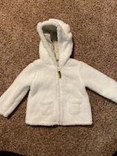 New Carters White Jacket Coat 18 Months