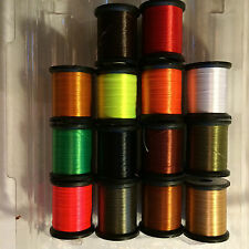 "LAGARTUN X STRONG 95 Denier ""14 Spool Set"" - Fly Tying premium thread"