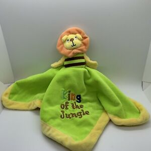 Baby Essentials Lil Monkey King of the Jungle Lion 2 Sided Flip Lovey Pre Owned