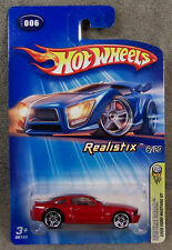 Hot Wheels ~ 2005 First Editions ~ Realistix ~ 2005 Ford Mustang Gt ~ Maroon
