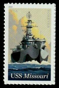 US NAVY 2019 SCOTT #5392 USS MISSOURI LAST BATTLESHIP MNHXF SINGLE FOREVER STAMP