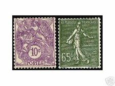 """FRANCE STAMP TIMBRE YVERT N° 233 / 234 """" BLANC 10c + SEMEUSE 65c """" NEUFS xx LUXE"""