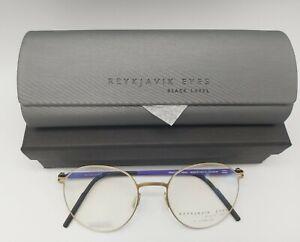 REYKJAVIK EYES Black Label BRAGI eyeglasses glasses titanium frame NEW + case