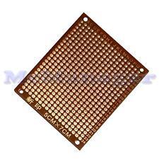 Perforados Pre Baquelita 1.2 mm Solo Lado Prototipo PCB Placa 50x70 matriz de cobre