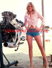 "SUPER ""Leggy"" Actress ""Michelle Pfeiffer"" with Pro Stock Chrysler ""HEMI"" PHOTO!"