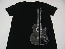 ACOUSTIC & ELECTRIC GUITAR - YOUTH SIZE T SHIRT! CHECK LISTING FOR MEASUREMENTS