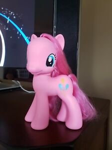 """My Little Pony 2003 Large 8.5"""" Styling Pinkie Pie Hasbro Brushable Hair Pink MLP"""