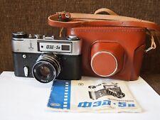 Rangefinder camera FED 5B INDUSTAR-61L/D 53mm f/2,8 Lens EXC!