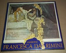 Kabaivanska/Domingo/Queler ZANDONAI Francesca da Rimini - BJRS 137-3 SEALED