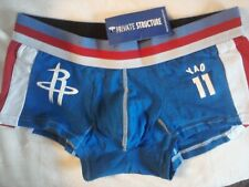 """Private Structure Underwear """"NBA Yao 11"""" (Low Rise) Men's Trunks -size M/L -NEW"""