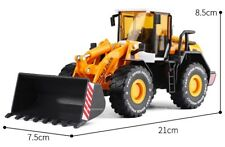 New Construction Machinery Forklift Engineering Vehicle Metal + Plastic Model