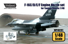 Wolfpack WP48201, F-16C/D/E/F F110 Engine Nozzle set (for Tamiya/Kine)SCALE 1/48