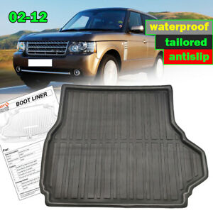 For Range Rover Mk3 Vogue L322 02-12 Boot liner Cargo Trunk Floor mat Tray