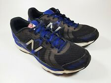 New Balance 670 V5 Black Blue Tech Ride Men's Athletic Running Trainers Size 10