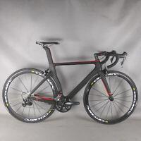 NEW Aero Road bike carbon frame bicycle R7000 Groupset complete bike matte TT-X2