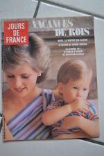 Jours de France N° 1651 23 août 1986 lady di Mode rentrée classes Jeanne Moreau