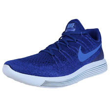 5aca6671d6b2f New NIKE LUNAREPIC LOW FLYKNIT 2 Men s Shoes 863779 400 Deep Royal Blue sz  10.5
