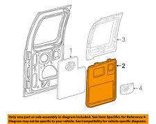 FORD OEM 04-07 E-350 Super Duty Back Door-Rear Door Trim Left XC2Z1645221BAA