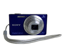 Sony Cyber-Shot DSC-W730 ~ 16.1 MP~ Blue Digital Camera