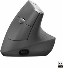 Logitech MX Vertical Advanced Ergonomic Mouse, Wireless via Bluetooth