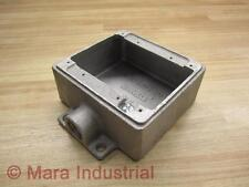Thomas & Betts CIFS-2G-1/2 Outlet Box - New No Box