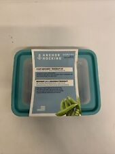 New listing Anchor Hocking TrueSeal Glass Food Storage Containers with Mineral Blue Airtight