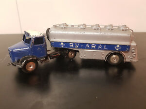 MARKLIN Camion citerne BV - ARAL Made in Western Germany No 8000