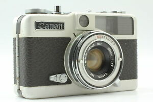 【  As - Is  】 Canon demi EE17 w/SH 30mm f1.7 Lens Film Camera Compact From JAPAN