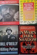 HISTORY OF THE WARS Books Military Army Marines Vietnam Korean  LOT of 4    WS1B