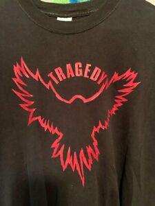 Tragedy Shirt  2006 Original Size Large Original  Discharge, Totalitar