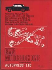 AUSTIN Cambridge, MG Magnette, Morris Oxford, Riley Workshop Manuale 1958-1970