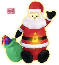 Babbo Natale Gonfiabile Luminoso, 122 cm  *01374