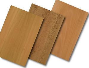 15 Furniere = 0,9qm Holz Platane Modellbau Deko basteln Intarsien werken bauen