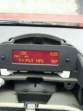 PEUGEOT 206 PPT40 MULTILINE MULTIPLEX RADIO INFO DISPLAY PANEL