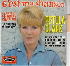 "45 T EP PETULA CLARK  ""C'EST MA CHANSON"""