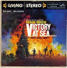 RICHARD RODGERS ROBERT RUSSELL BENNETT VICTORY AT SEA VOL 1 LP 1959 RCA LSC-2335