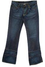 Zace Denim Jeans Womens 28 Boot Cut 5 Pocket Side Slit Zachary Myers Cotton USA