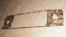 rat rod radio face repair plate restoration panel  #2  60s 70s ?  blaupunkt VW
