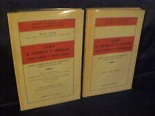 Marcel Colin: Examen de personnalité et criminologie (médecine légale) 2 vol TBE