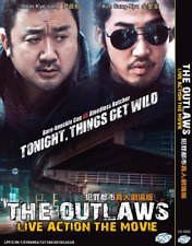 KOREAN MOVIE DVD: The Outlaws Live Action Movie (2018) English Subs + FREE SHIP