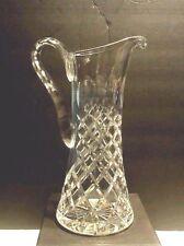 Vintage 11'inch)  glass pitcher stunning