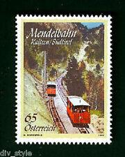 Mendel Funicular railway mnh stamp 2010 Austria #2252 train railroad