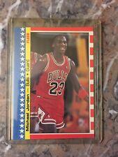 1987 Fleer Michael Jordan sticker SHARP, CLEAN, Top angler, Nice NM Grade Ready!