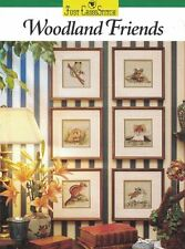 Woodland Friends Just Cross Stitch Supplement Leaflet Tree Frog Chipmunk & More