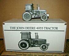 1/43 John Deere 4955 Tractor Spec Cast PEWTER Toy JDM057  1995 St Louis Expo  jd