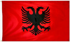 Albania Flag 3 x 2 FT 100% Polyester - National Country football Euro 2016