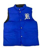 Polo Ralph Lauren Boys Kids Blue/Black Reversible Puffer Vest Sz L 14/16