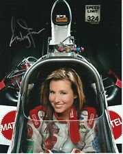 ASHLEY FORCE Signed NHRA Photo w/ Hologram COA