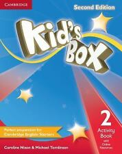 Kid's Box Level 2 Activity Book with Online Resources by Caroline Nixon...